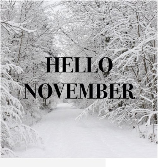 November Hello Wishes