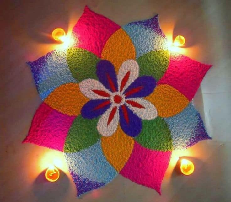 Rangoli Best Designs