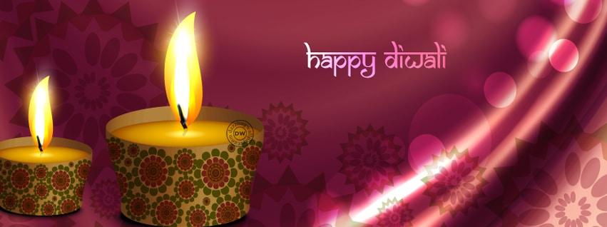 happy diwali facebook cover wallpaper