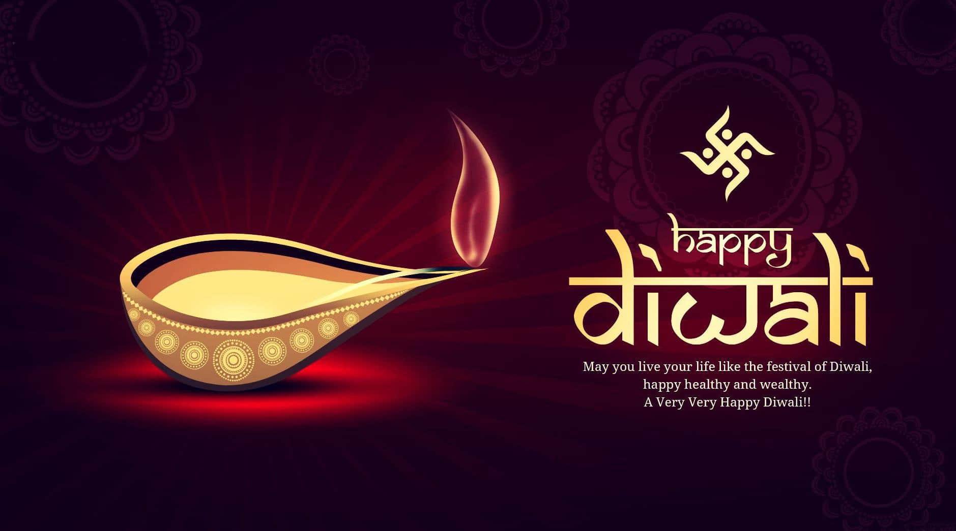 Shubh Deepawali Diya