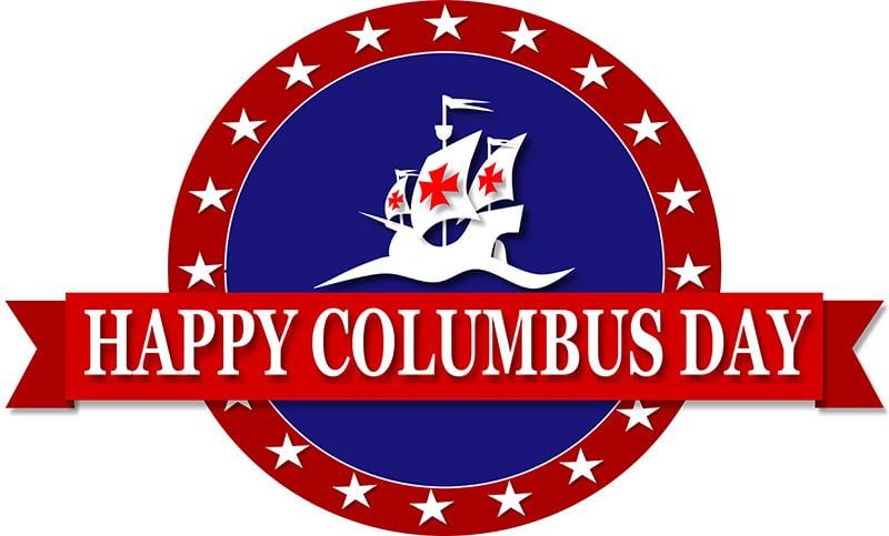 Columbus day Logo