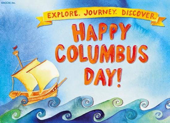 Columbus day art