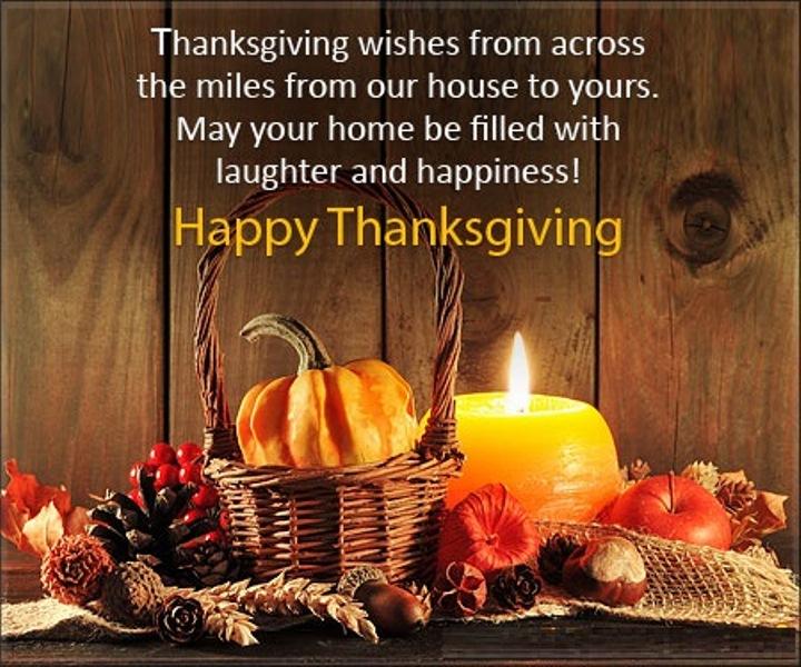 2017 Thanksgiving Greetings