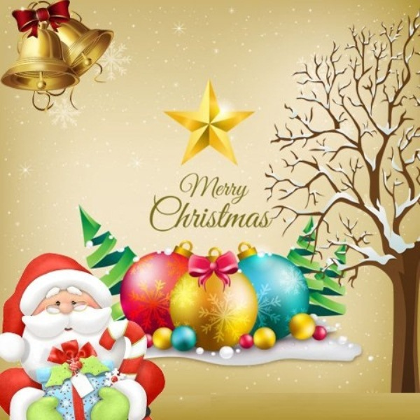 3D Merry Christmas Wallpapers