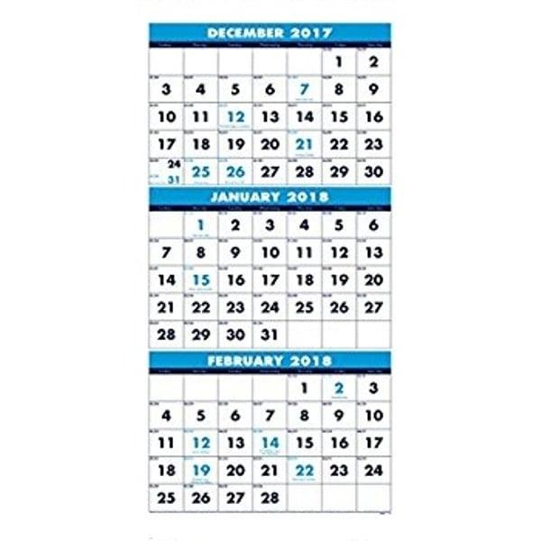 December 2017 January 2018 Printable Calendar