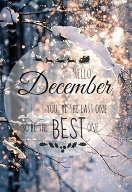 Goodbye November Hello December Images