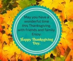 Happy Thanksgiving Day 2017 Greetings