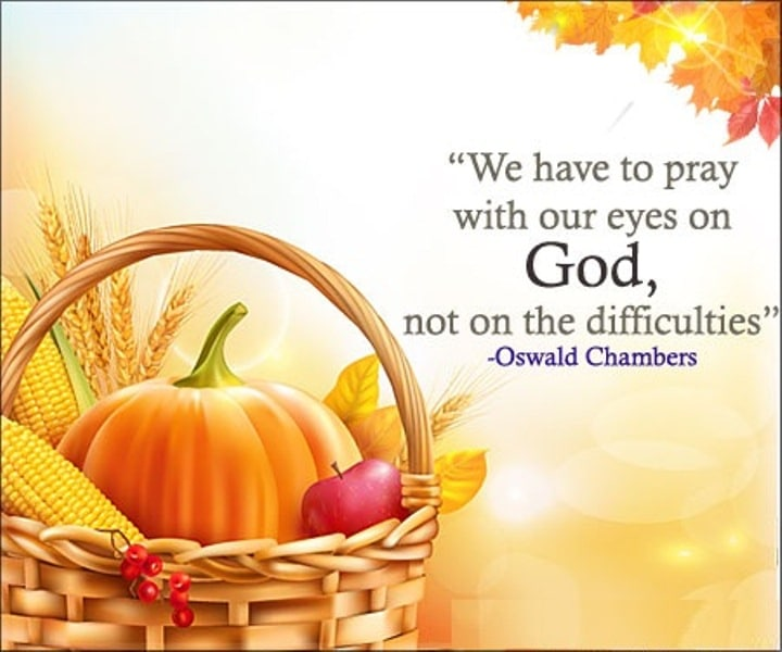 Happy Thanksgiving Day Greetings