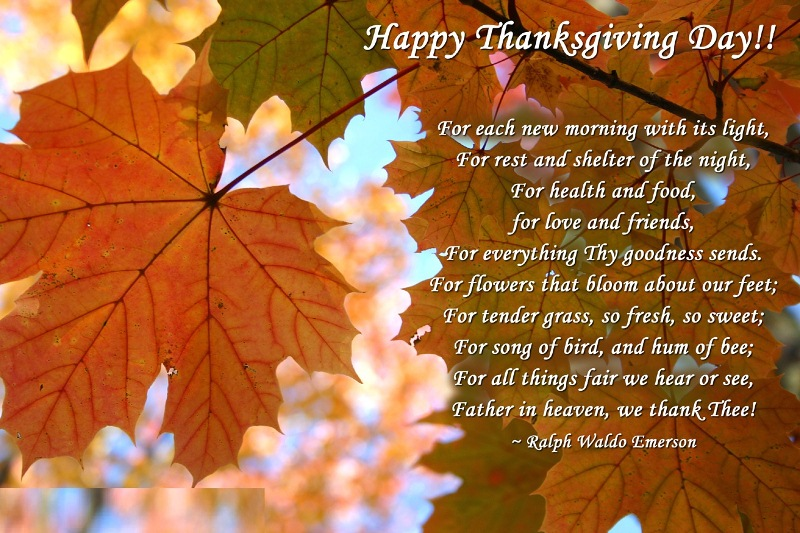 Happy Thanksgiving Day Messages