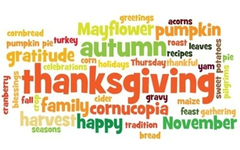 Happy Thanksgiving Day Sayings