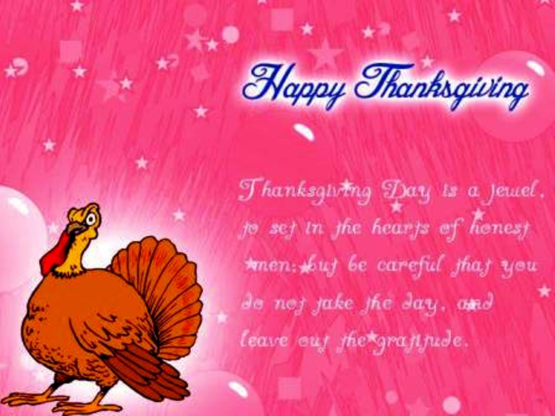 Happy Thanksgiving SMS