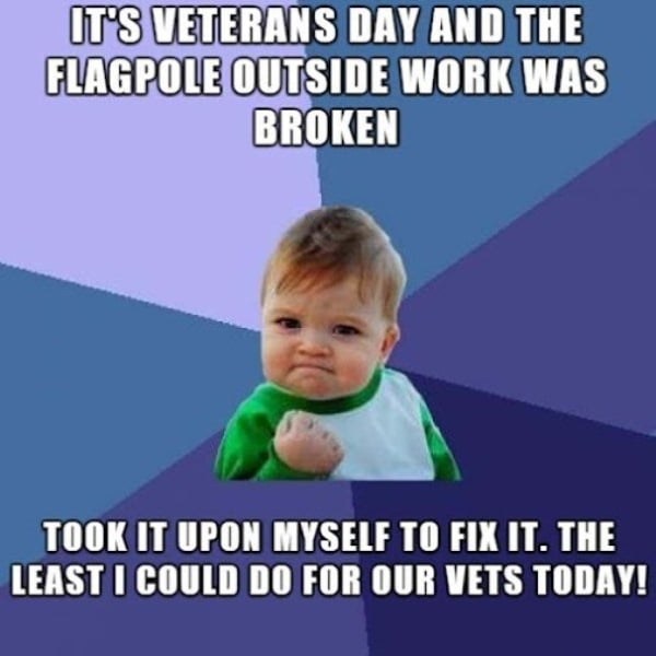 Happy Veterans Day Greetings