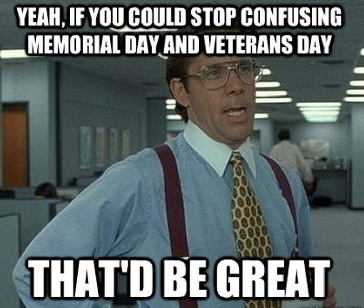 Happy Veterans Day Memes