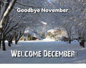 Hello December Goodbye November Images