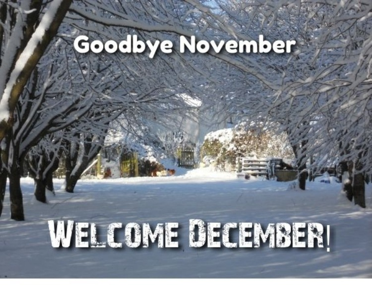 Hello December Goodbye November Images