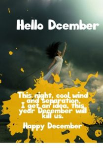 Hello December Goodbye November Quotes