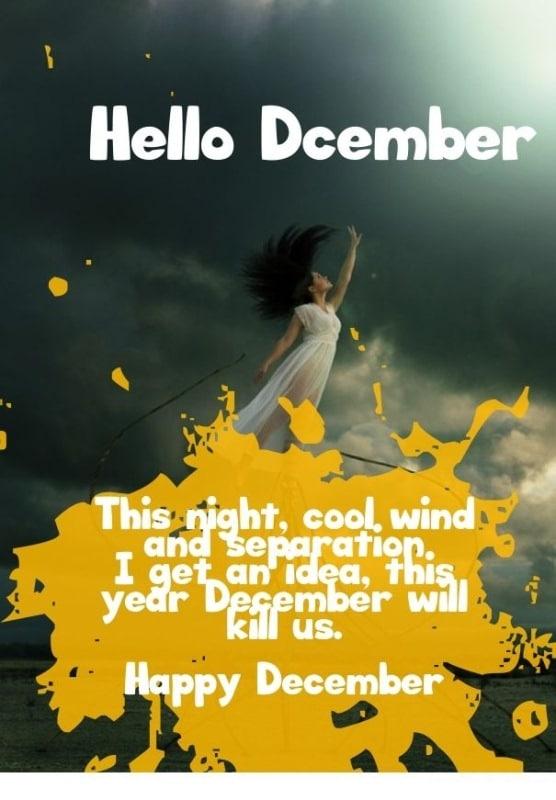 Hello December Goodbye November Quotes