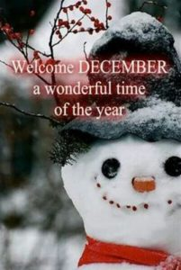Images Welcome December