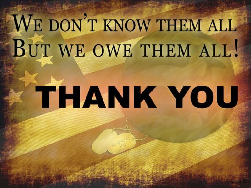 Quotes Thank You Veterans Day