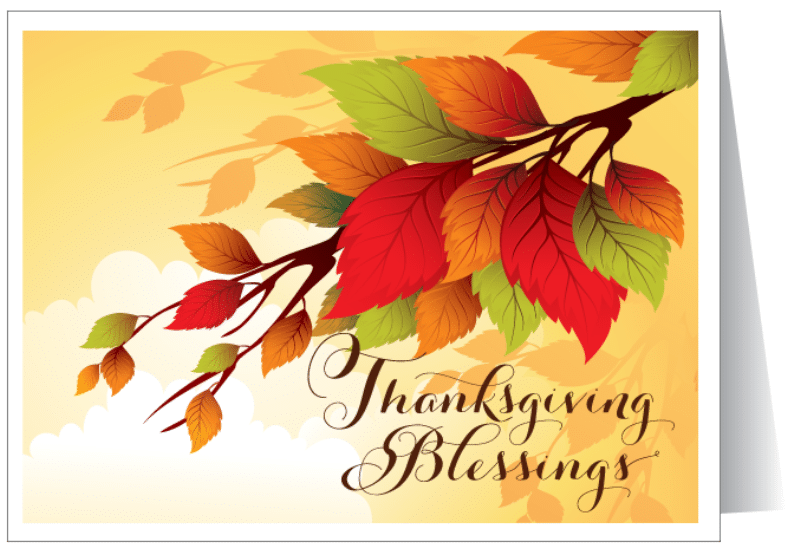 Thanksgiving 2017 Day Cards