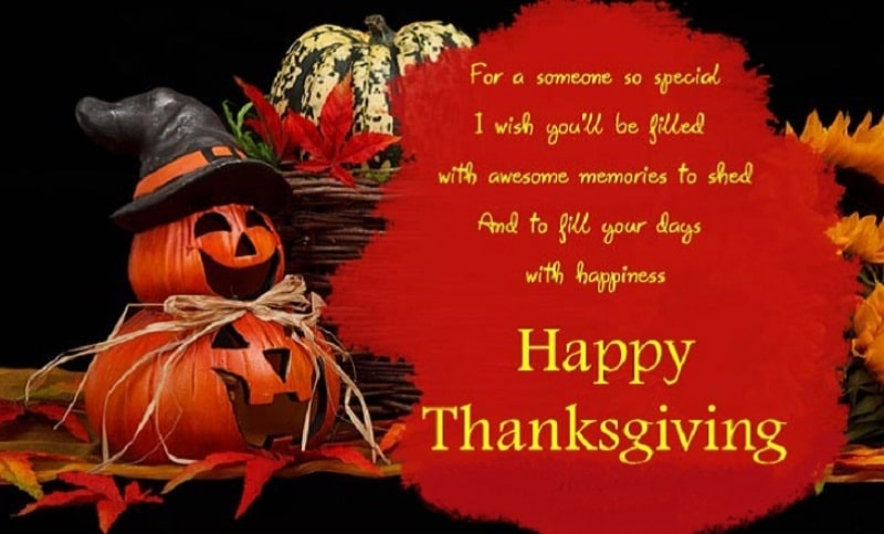 Thanksgiving 2017 SMS, Quotes