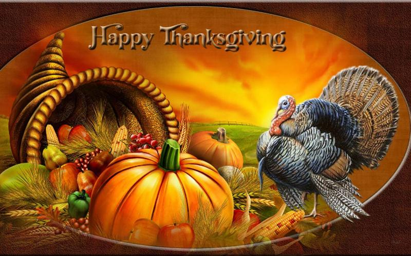 Thanksgiving 3D Wallpapers