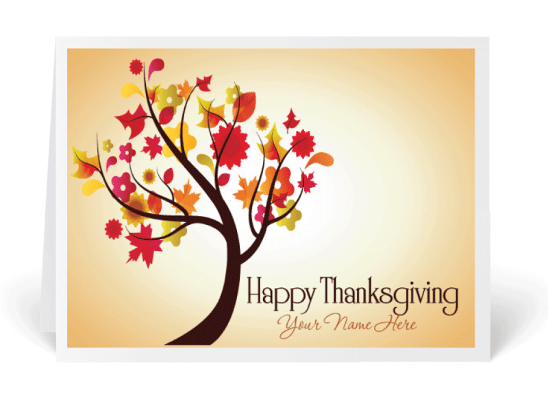 Thanksgiving Cards For Family
