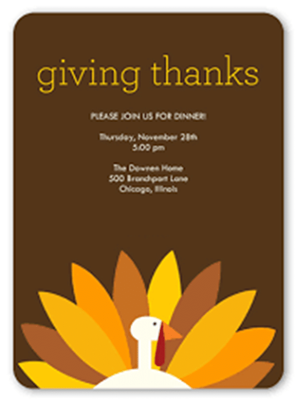 Thanksgiving Day 2017 Cards