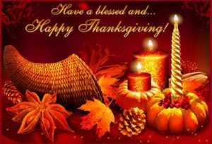 Thanksgiving Day 2017 Greetings