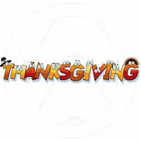Thanksgiving Day 2017 Text