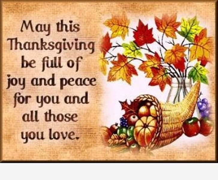 Thanksgiving Day 2017 Wishes
