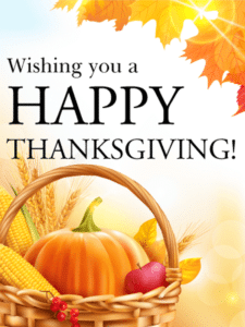 Thanksgiving Day Cards 2017