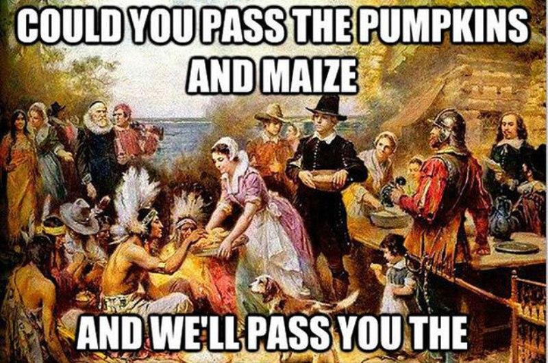 Thanksgiving Memes