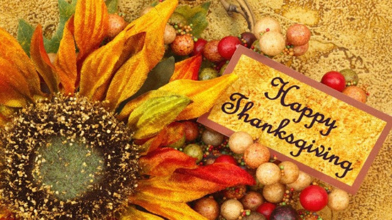 Thanksgiving SMS for Facebook Cover Page