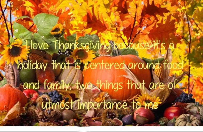 Thanksgiving SMS to Friends