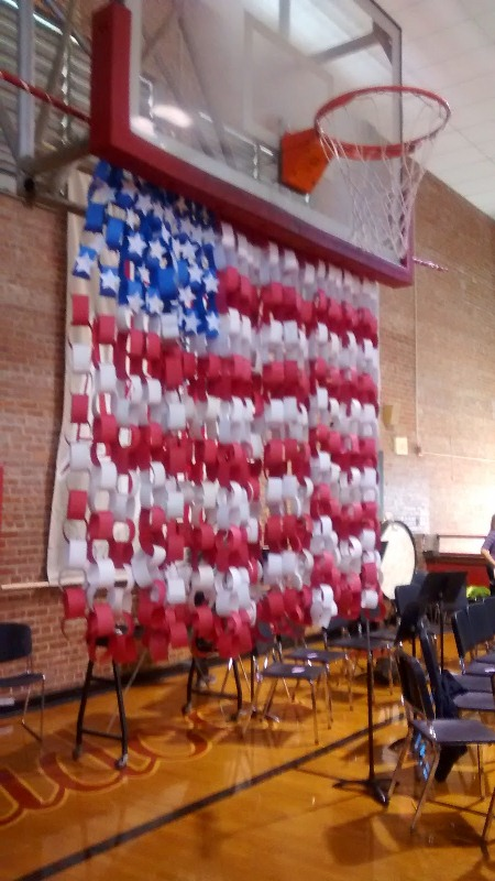 Unique Veterans Day Decoration