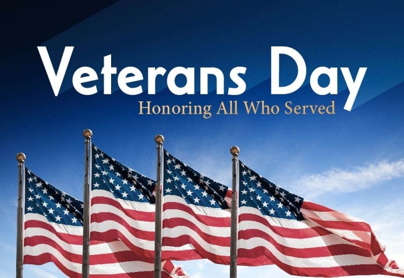 Veterans Day 2017 Banners