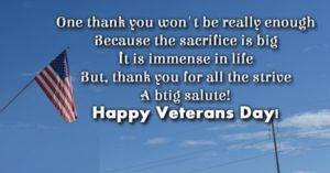 Veterans Day 2017 Speech