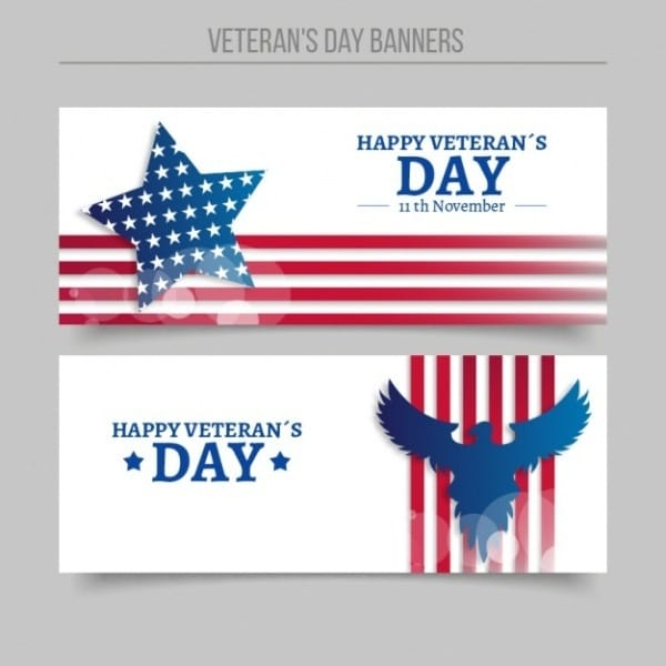 Veterans Day Banners For Facebook Cover Page
