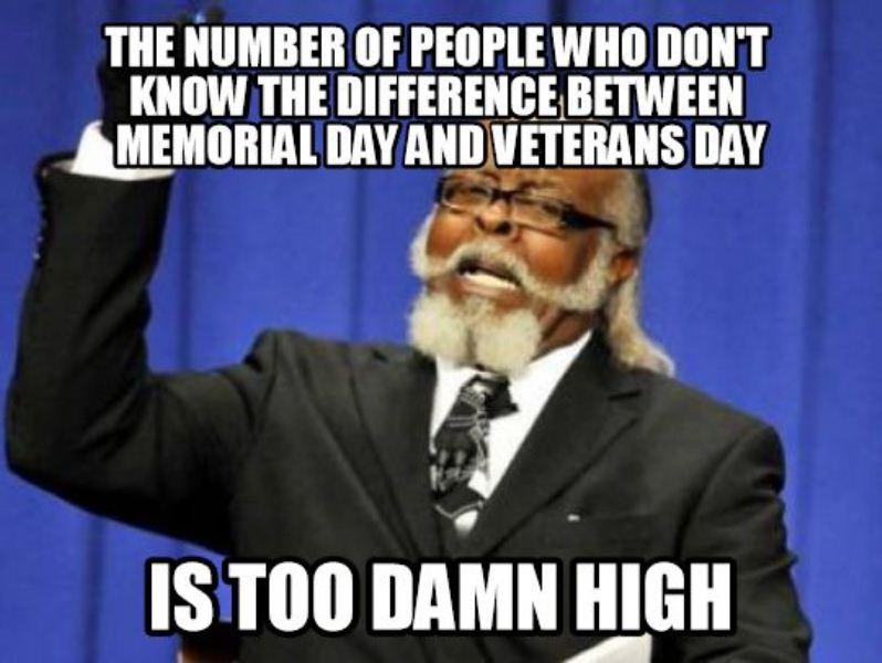 Veterans Day Creative Memes