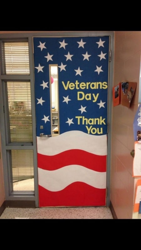 Veterans Day Decoration