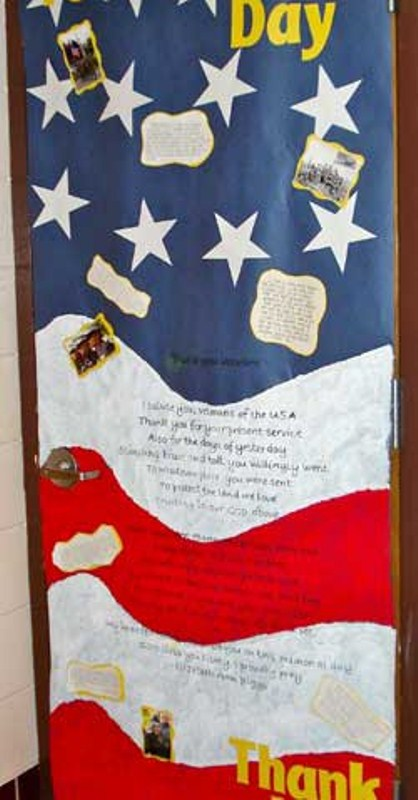Veterans Day Decoration Pictures