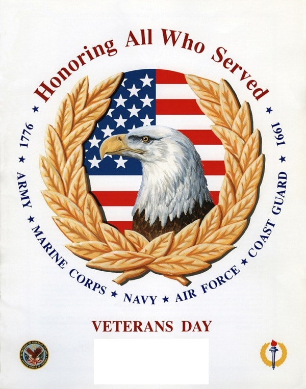 Veterans Day Family Posters