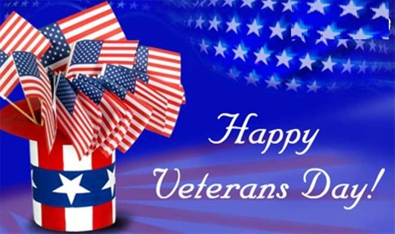 Veterans Day Greetings 2017