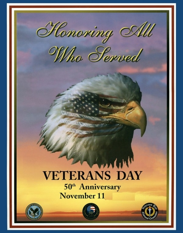 Veterans Day Posters 2017