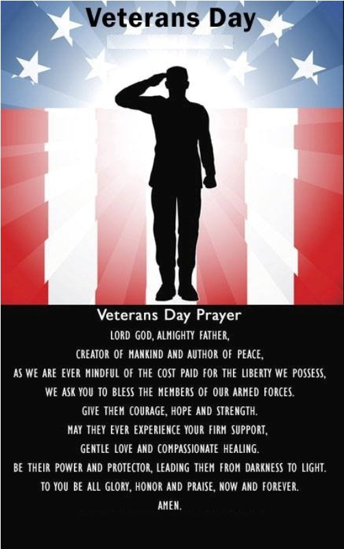 Veterans Day Prayers 2017