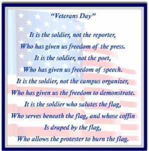 Veterans Day Speech Ideas 2017