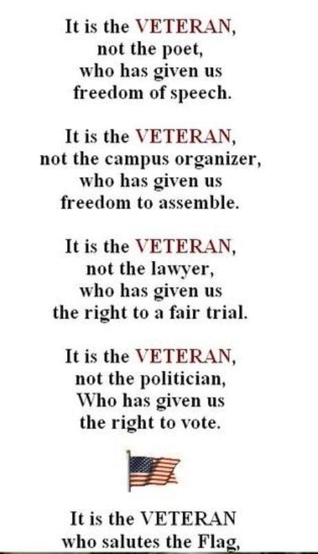 Veterans Day Speech Ideas