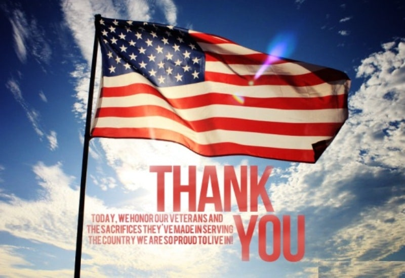 Veterans Day Thank You Prayers
