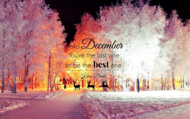 Welcome December Pics